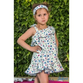 Babiné Summer Girl Dress Beach Sea Stars