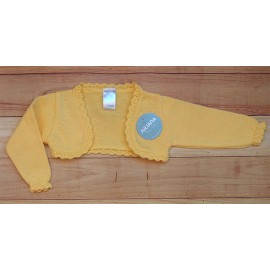 Juliana Summer Baby Girl Jacket Yellow