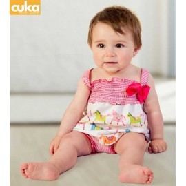 Cuka Summer Baby Girl Set Argentina