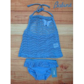 Babiné Summer Girl Set Swimsuit Set Blue