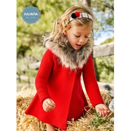Juliana Winter Baby Girl Coat Red