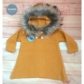 Juliana Winter Baby Girl Coat Golden