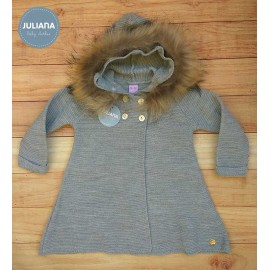 Juliana Winter Baby Girl Coat Gray