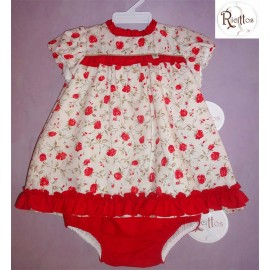Ricittos Winter Baby Girl Dress Penelope