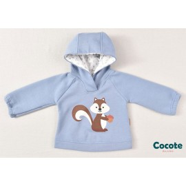 Cocote Winter Baby Boy Sweater Squirrel