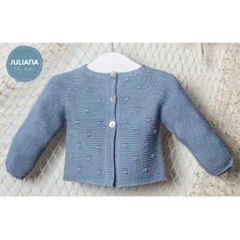 Juliana Summer Baby Boy Blue Jacket