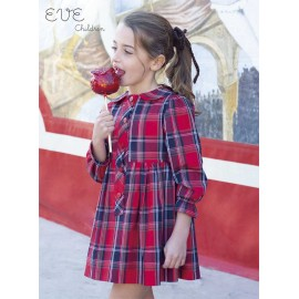 Eve Children Winter Girl Dress Scottish