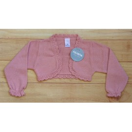 Juliana Winter Baby Girl Jacket Dark Pink