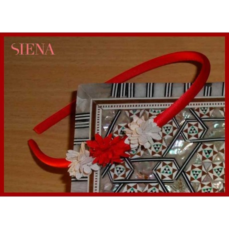 Siena Baby Girl Diadem Small Flowers
