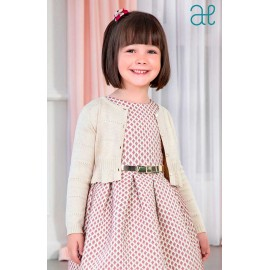 Abel & Lula Winter Girl Beige Jacket