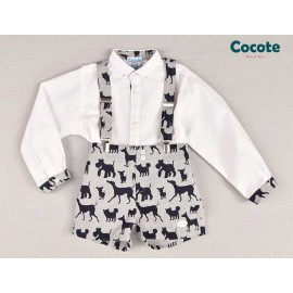 Cocote Winter Boy Set Dogs